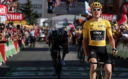 Cycling: Thomas extends Tour lead amid unsavory scenes at l'Alpe d'Huez