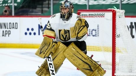 Vegas deals Vezina-winner Fleury to Chicago, which also acquires Johnson from Lightning