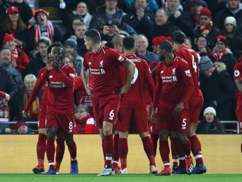 Liverpool 3 Manchester United 1: Shaqiri's late show bails out Alisson as Reds return to the top