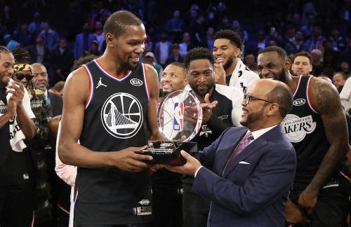 Post Up: Kevin Durant Named All-Star Game MVP as Team LeBron Defeats Team Giannis 🏆
