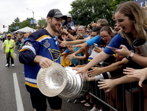 St. Louis Blues celebrate Stanley Cup: A parade 52 years in the making