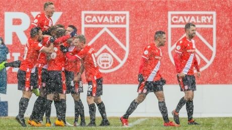 In the CPL, there's the Cavalry FC - and then everyone else