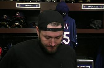 Lance Lynn talks Texas' 5-3 win against Seattle