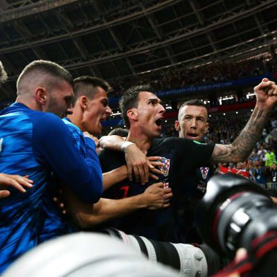 History-maker Mandzukic sends Croatia into first Final