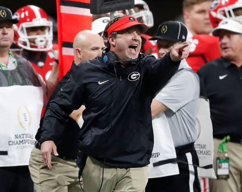 Georgia coach Kirby Smart on high expectations: 'Pressure is really a privilege
