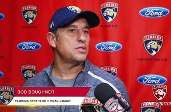 Panthers on getting back to game intensity ahead of preseason matchup vs. Lightning