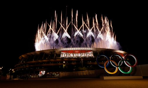 Opinion: Marathon, crowd-less Tokyo Olympics opening ceremony mixes in poignant moments