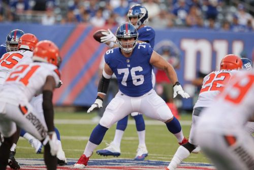 Giants left tackle Nate Solder likely out until training camp following ankle surgery