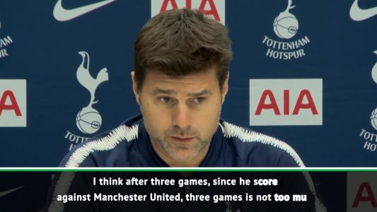 Pochettino not worried about form of Harry Kane