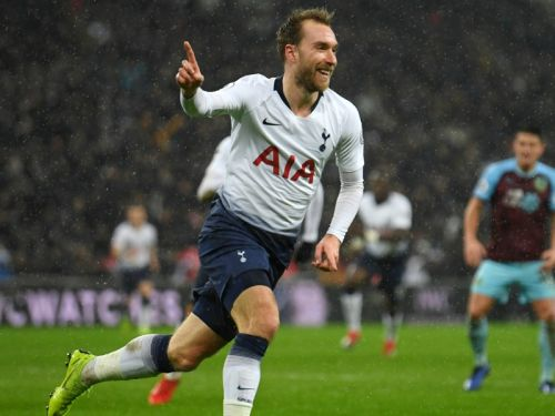 Tottenham 1 Burnley 0: Eriksen snatches victory at the death