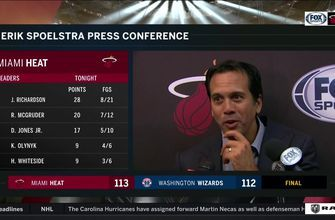Erik Spoelstra on how Heat bounced back in less than 24 hours to win in D.C