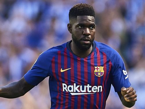 Umtiti in Barcelona squad to face former club Lyon
