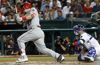 Mike Trout smokes solo home run off Jacob deGrom to give AL 2-0 lead
