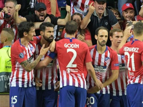 Costa sets UEFA Super Cup record with first minute goal against Real Madrid