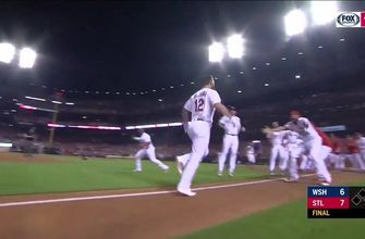WATCH: Carp hits three-run homer, DeJong blasts walk-off in ninth