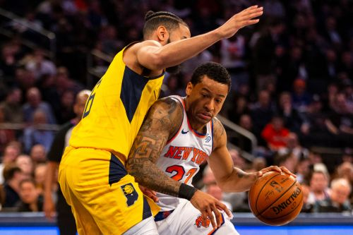Knicks pounded by Pacers in their return to MSG