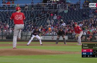 HIGHLIGHTS: Angels fall in Skaggs Spring Training debut