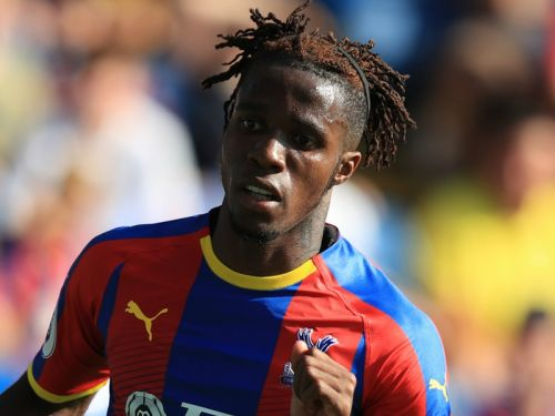 Zaha ends transfer links by signing Crystal Palace contract extension
