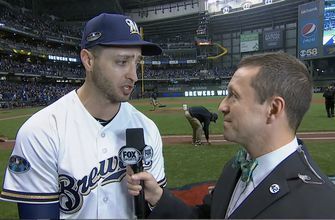 Ryan Braun tells Ken Rosenthal that 'all the pressure' is on the Dodgers heading into Game 7