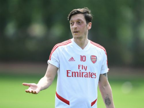 Mesut Ozil hits out at Arsenal over two major issues