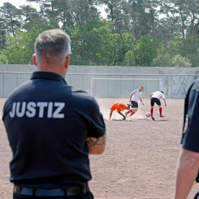 Football used as a means for rehabilitation in Germany
