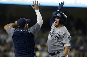 Padres halt Dodgers' momentum, win 5-3 in LA