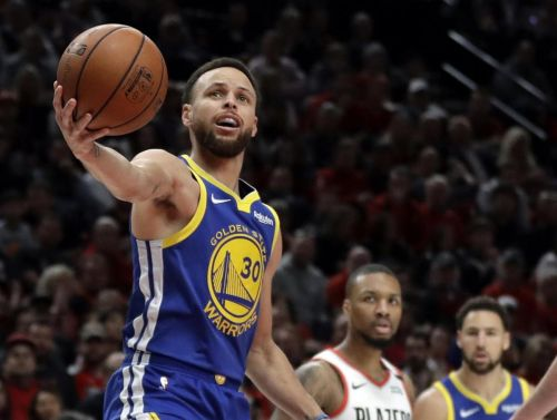 Warriors sweep Blazers for ticket to fifth straight NBA final