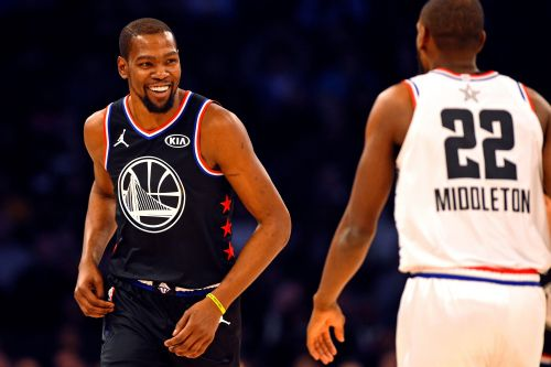 Kevin Durant keeps padding his already-impressive résumé with another All-Star Game MVP