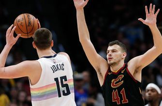 Cavaliers end six-game road trip with 124-102 loss to Nuggets