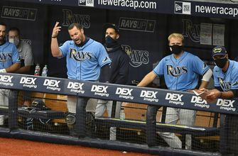 Michael Perez's deliver walk-off single as Rays take series from Yankees