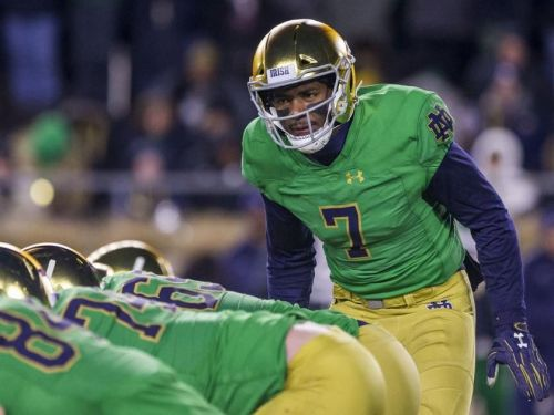 Notebook: Former Notre Dame QB Brandon Wimbush picks UCF as graduate transfer destination