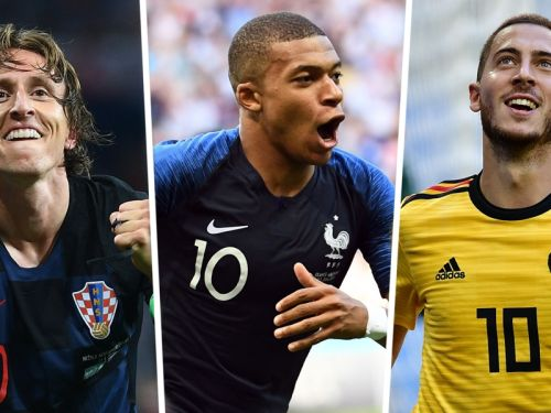 Mbappe, Modric & World Cup 2018 team of the tournament