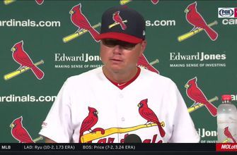 Shildt on Wainwright's strong outing: 'He was clearly outstanding today'