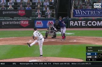 WATCH: Byron Buxton smacks two-run home run