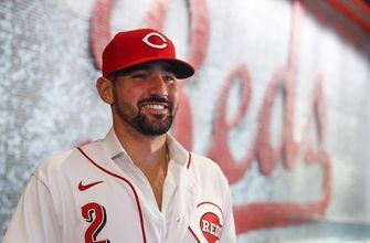 Reds' Castellanos returns to ballpark where he's comfortable