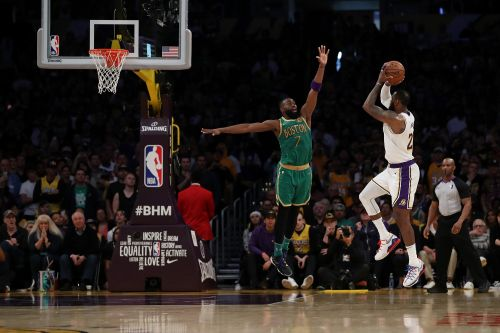LeBron James' 'Dream Shake' carves him place in Lakers-Celtics rivalry