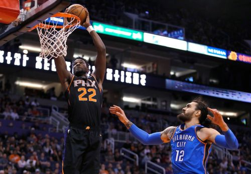 George, Adams lead Thunder past Phoenix 110-100