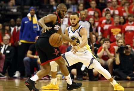 NBA notebook: Rockets won't have Paul in Game 6