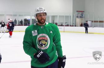 Panthers practice report: Team happy to see Trocheck back at full participation