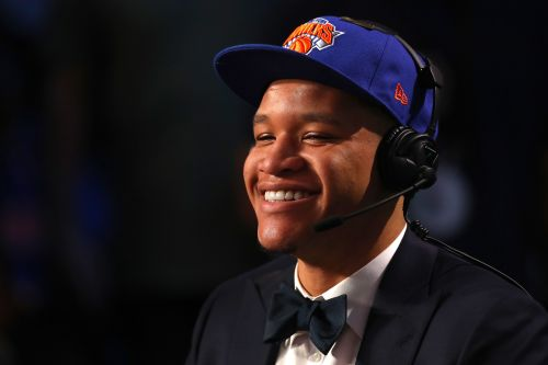 Knicks fans were so disappointed their team drafted Kevin Knox