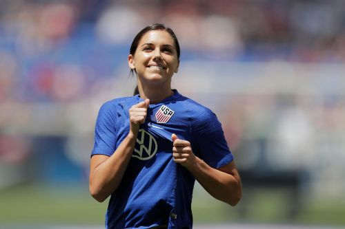 Mother-to-be Alex Morgan is OK with Olympic postponement