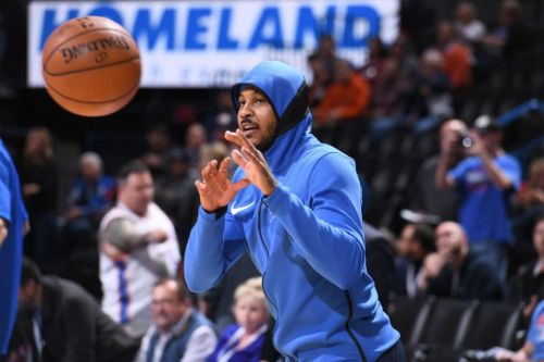 Nene: Carmelo Anthony Still a 'Top-10 Player in the League'