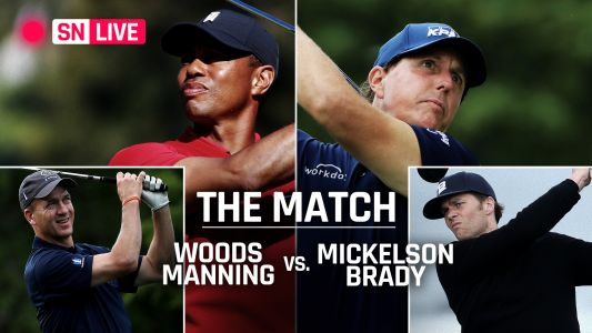 'The Match 2' live updates & highlights from Tiger Woods-Peyton Manning vs. Tom Brady-Phil Mickelson golf match