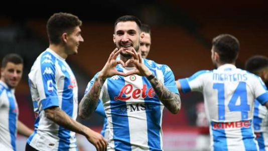 SERIE A - Osimhen's goal pivots Napoli to the top of the league