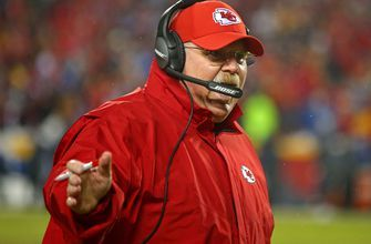 Chiefs' Reid trying to rewrite history of playoff letdowns