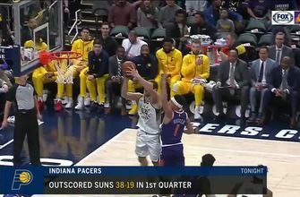 HIGHLIGHTS: Booker returns but Suns can't keep up with Pacers