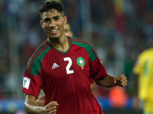 Dortmund sign Hakimi on loan from Real Madrid