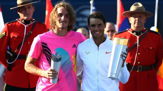 'This beast, this monster': Tsitsipas gets an education from Nadal in Toronto