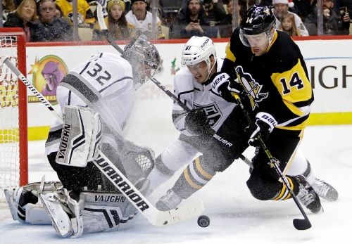 Phil Kessel scores in OT, Penguins beat Kings 4-3