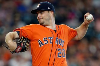 Miley whiffs eight Red Sox, Astros grab home win